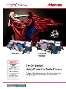 brochure tx400 series