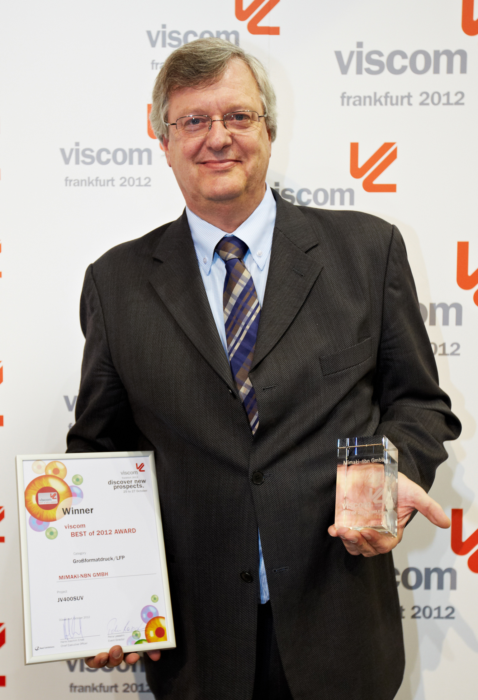 viscom 2012 award mimaki