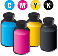 The new CS100 ink comes in 2L bottles