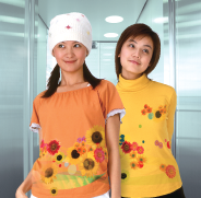 TPC-1000 is suitable for apparel applications