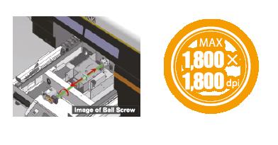UJF-6042 Ball Screw Type Head Mechanismn