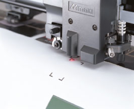 Mimaki register mark detection