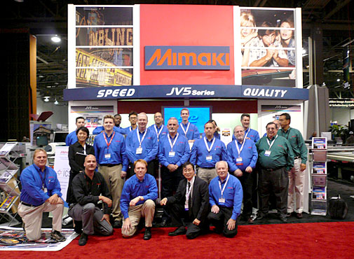 Mimaki USA event - Mimaki Europe