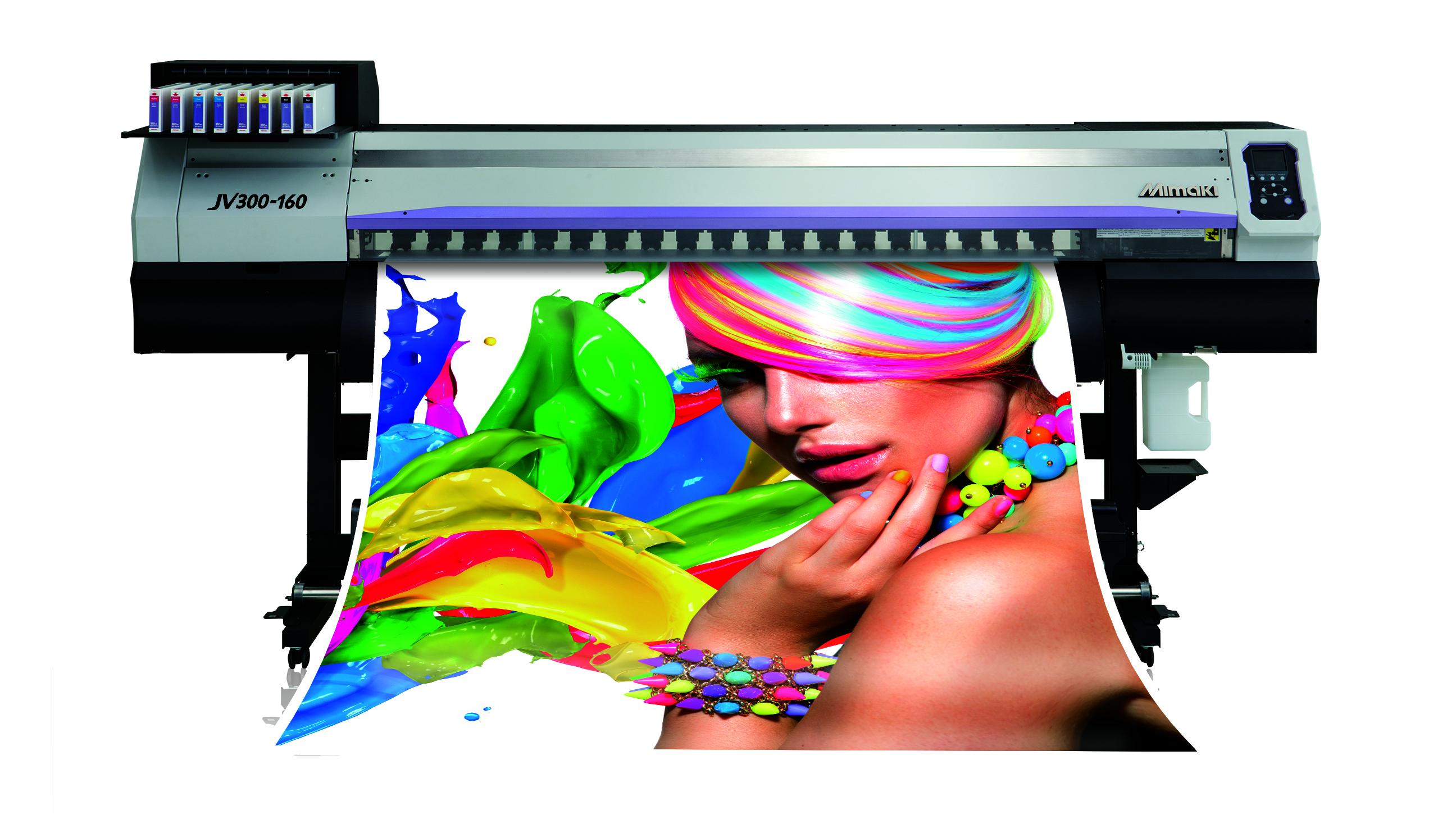 Mimaki JV300-160 eco-solvent digital inkjet printer