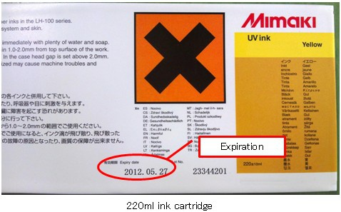 cartridge 220ml ink