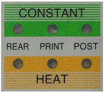 cjv30 constant heat off