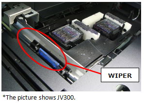 jv300 replace wiper