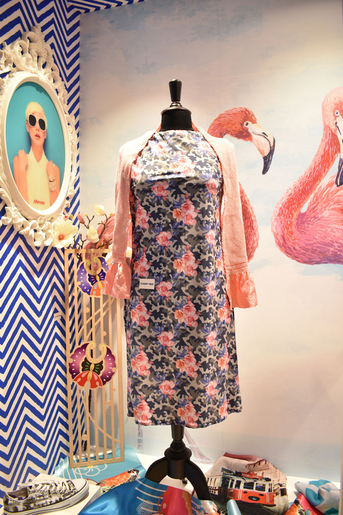 Printed textile applications