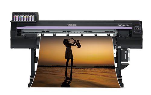 Mimaki CJV150 Series: affordable, integrated printer/cutter