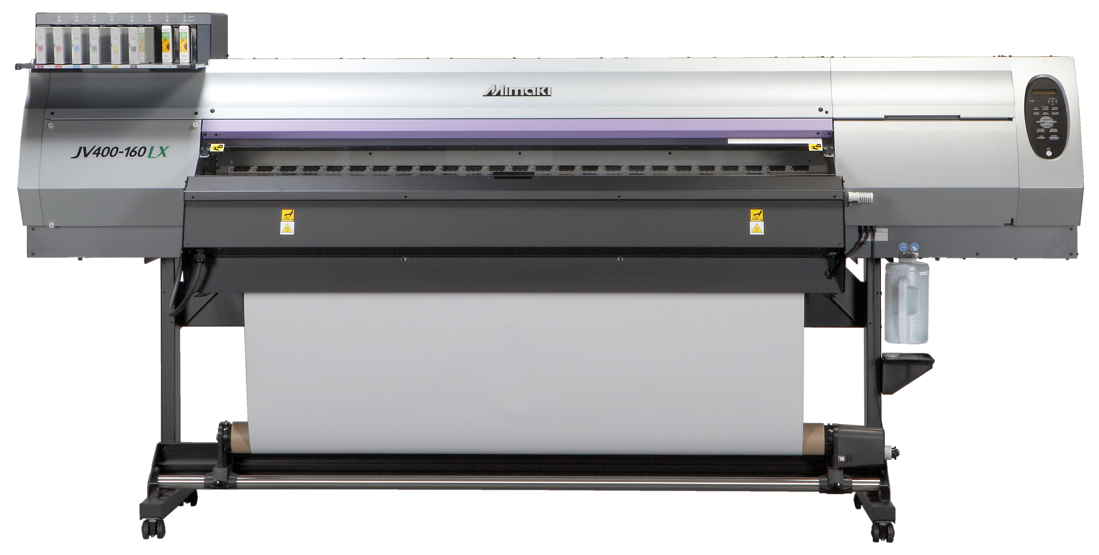 JVX400 LX Series A New Cooler, Cleaner and Greener Latex Printer