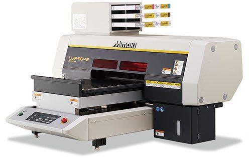 UJF-3042 Desktop Size UV LED Flatbed Printer