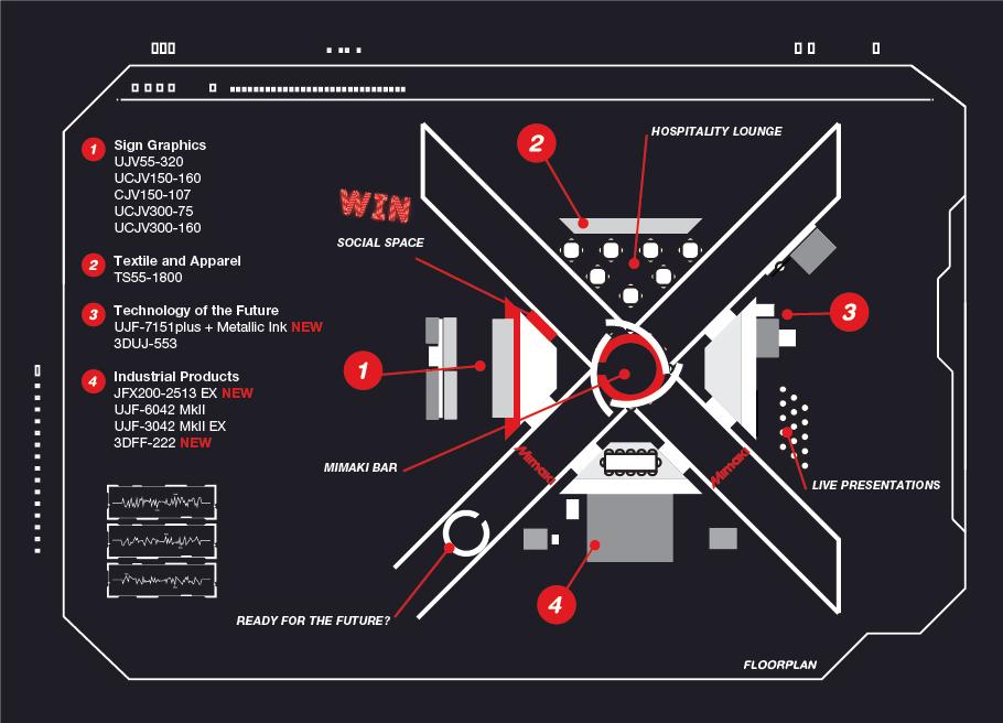 FESPA Floorplan 2019