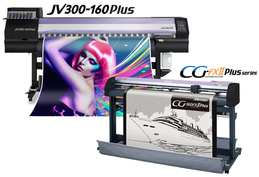 JV300-160Plus Print Cut Combo