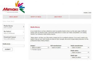 ICC Colour Profiles Download