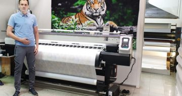 Mimaki Customer, TOMDOM, Declares Digital Technology the Fabric of a Successful  image