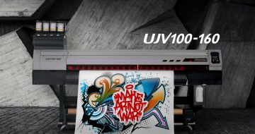 Mimaki launches new '100 Series', bringing two roll-to-roll inkjet printers  image