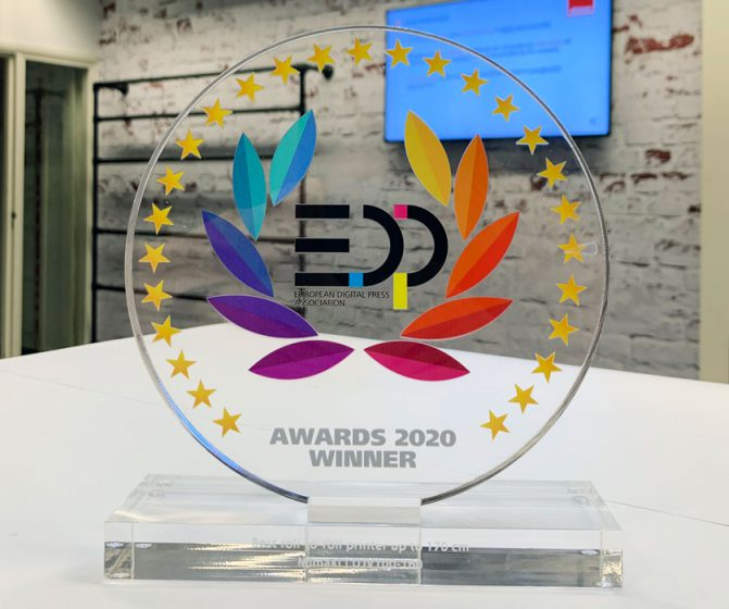 EDP award