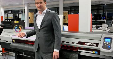 Mimaki UJV100-160 Awarded Best Roll-to-Roll Printer by EDP image
